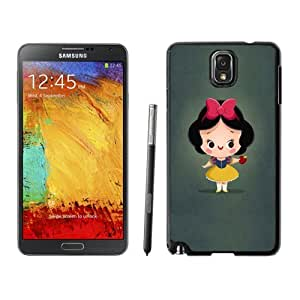 New Personalized Custom Designed For Samsung Galaxy Note 3 N900A N900V N900P N900T Phone Case For Cute Cartoon Girl with Ribbon Bow Phone Case Cover