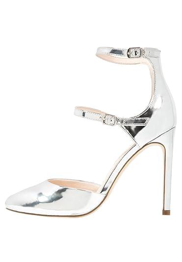Even Odd High Heel Pumps Damen Silber, Größe 42  Amazon.de  Schuhe ... 52d2237236