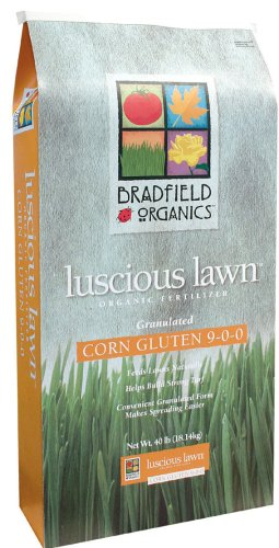 Bradfield Organics luscious lawn best organic fertilizer