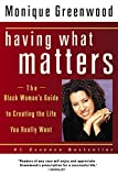 img - for Having What Matters book / textbook / text book