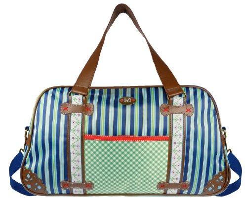Lief! 440-4829-1 - Bolso cambiador, diseño rayado, color azul