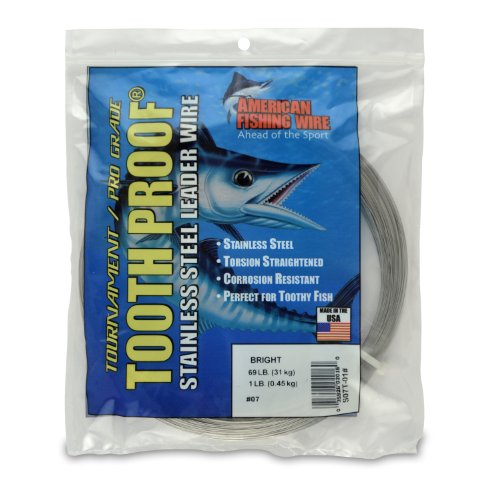 American Fishing Wire Tooth Proof Stainless...