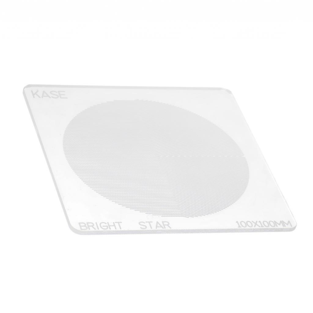 Homyl Filtre Objectif Focus Sautre Transmittance Elevée en Lumière Faible pour Star Sky Landscape 100x100mm