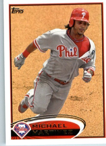 Philadelphia Phillies Mlb Card (2012 Topps Baseball Card #64 Michael Martinez - Philadelphia Phillies - MLB Trading)