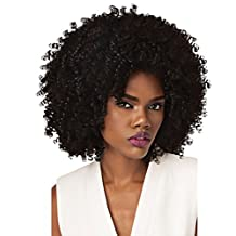 Outre Synthetic Half Wig Quick Weave Big Beautiful Hair 4A-Kinky (1B) by Outre