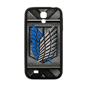Attack On Titan Fashion Comstom Plastic case cover For Samsung Galaxy S4