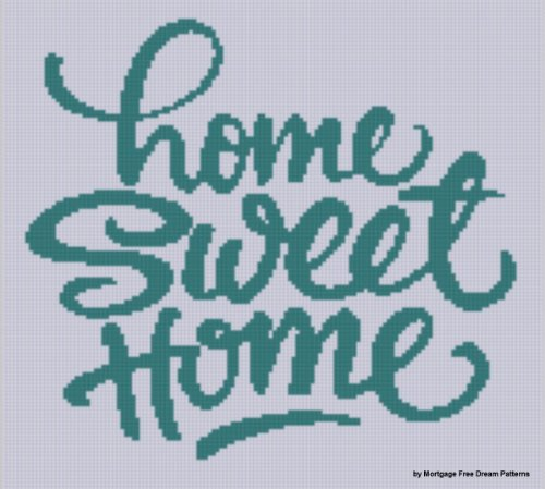 Home Sweet Home 2 Cross Stitch Pattern ()