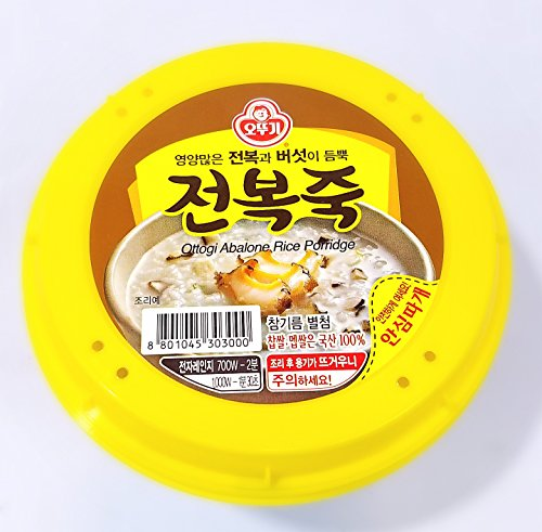 Ottogi Abalone Rice Porridge  10Oz  Bowl           285G