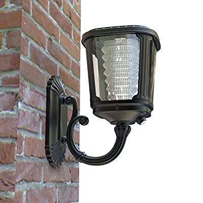 Asklan – Wall Mount Solar Led Light Pathway Garden Walkway Driveway Entryway Yard – ALS 2.0 and Tcs Technology – Ternary Lithium Ion Technology – Smart PIR Motion Detector – Aluminum Waterproof IP65