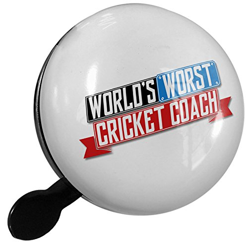 Small Bike Bell Funny Worlds worst Cricket Coach - NEONBLOND by NEONBLOND
