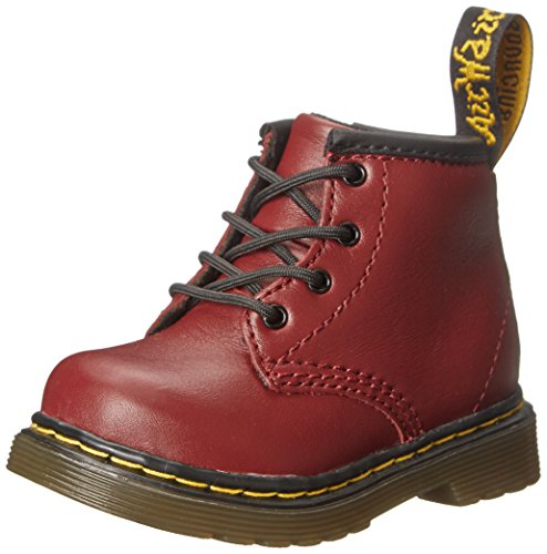 Dr. Martens Girl's BROOKLEE Burgundy Fashion Boots 3 M -