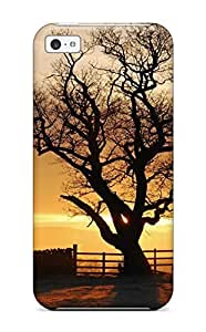 4781569K41362525 Fashion Protective Tree Case Cover For Iphone 5c