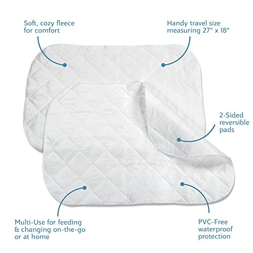 NEW Sealy Multi Use 2 Piece Quilted Fleece Pads FREE SHIPPIN