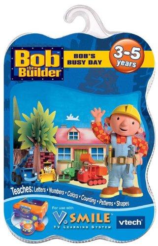 Vtech V. Smile GAME: BOB THE BUILDER - BOB'S BUSY DAY For SM