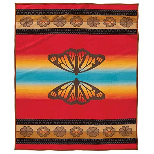 Pendleton - Wool Blanket, Butterfly
