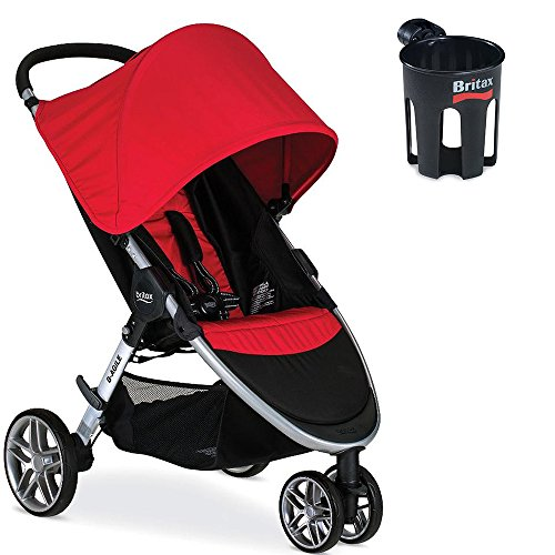 Britax Double Stroller Cup Holder - 2