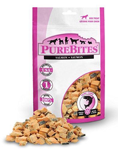 (Purebites Salmon Freeze Dried Dog Treats, 2.47Oz | 70G - Mid Size)