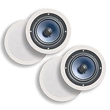 Polk RC Series In-Wall/In-Ceiling Speakers (RC60i (2 Pairs))