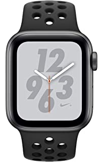 f6c6ec045ccbf Apple Watch Series 4 Nike+ - 44mm Space Gray Aluminum Case with  Anthracite Black Nike