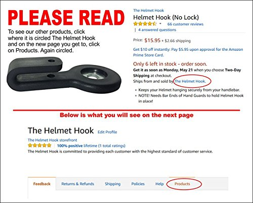 Helmet Hook (No Lock)