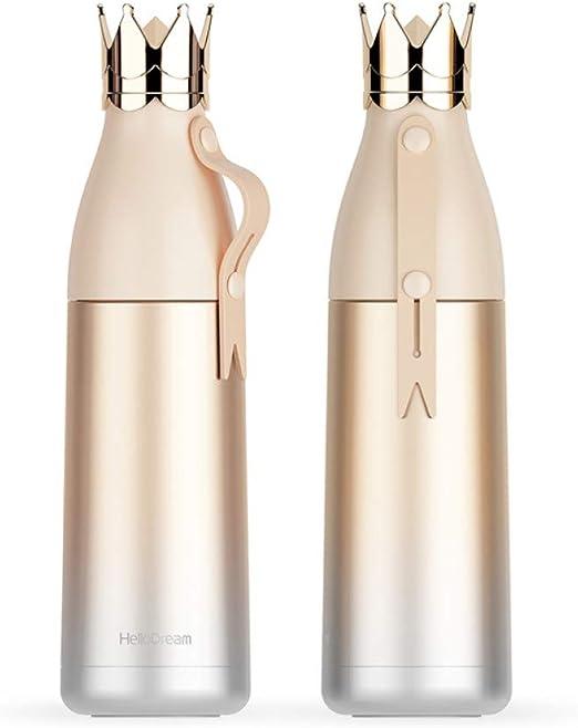 CQAZX 350 ml 304 Botella de Agua Caliente de Acero Inoxidable para ...
