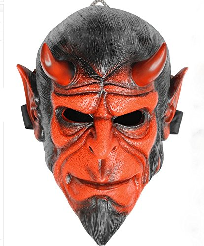 Gmasking Resin Hellboy 1:1 Adult Costume Mask Replica