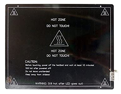 HICTOP 3MM MK3 aluminio climatizada Cama caliente cama PCB ...
