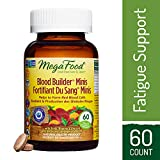 MegaFood - Blood Builder Minis, Energy Boosting Iron Supplement, 60 Count