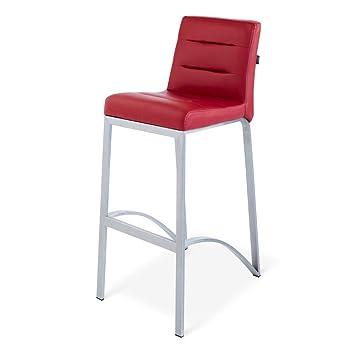 Super Zuri Furniture Lynx Bar Stool With Metal Base Red Ibusinesslaw Wood Chair Design Ideas Ibusinesslaworg