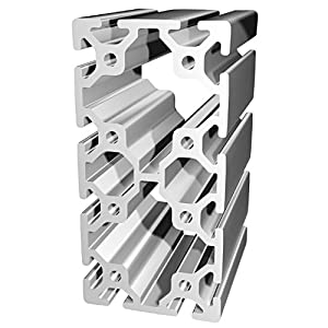 80/20 Inc., 40-8016, 40 Series, 80mm x 160mm T-Slotted Extrusion x 1830mm from 80/20 Inc.