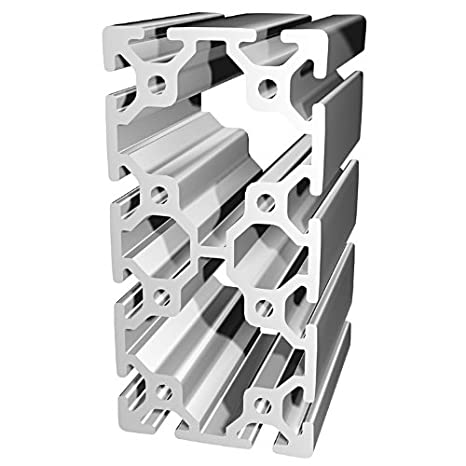 80/20 Inc., 40-8016, 40 Series, 80mm x 160mm T-Slotted Extrusion x ...