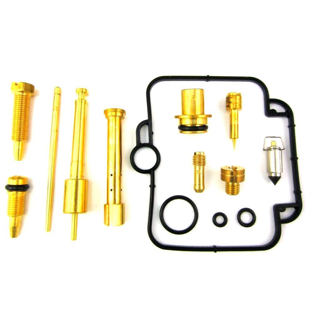 Scelet 2X Kit de reconstruction de r/éparation de carburateur 89-00 GS500 GS 500 GS500E