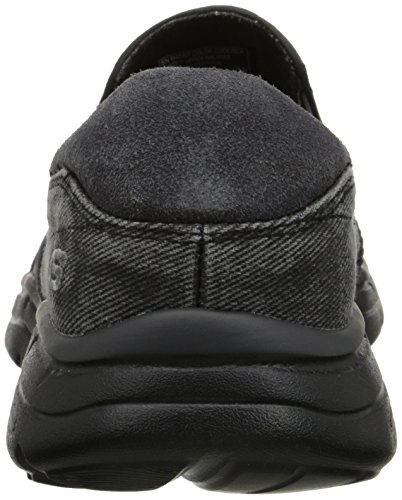 Skechers Usa Mens Glider Orubblig Slip-on Loafer Svart