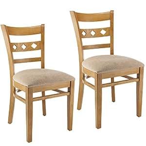 beech dining room furniture | Amazon.com - Beechwood Mountain BSD-18S-C Solid Beech Wood ...