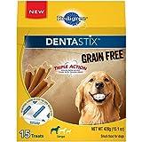 Pedigree Dentastix Dog Dental Treats Original Flavor, 32 Treats, Large (30 lb+ Dogs)