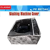 Classic Whirlpool Stain Wash Back Panel Washing Machine Cover 6 Kg To 7.2 Kg Only Colour and Design may vary (Assorted)