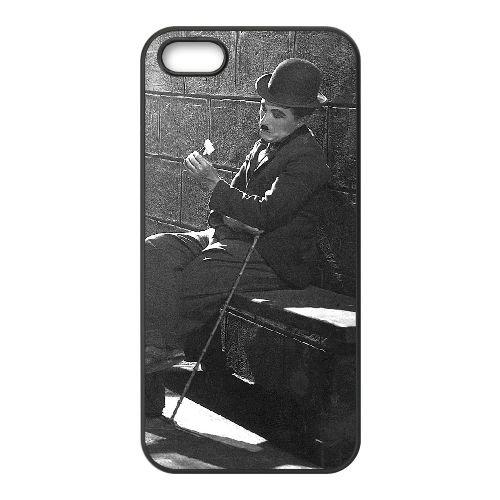 Chaplin 009 coque iPhone 4 4S cellulaire cas coque de téléphone cas téléphone cellulaire noir couvercle EEEXLKNBC24104