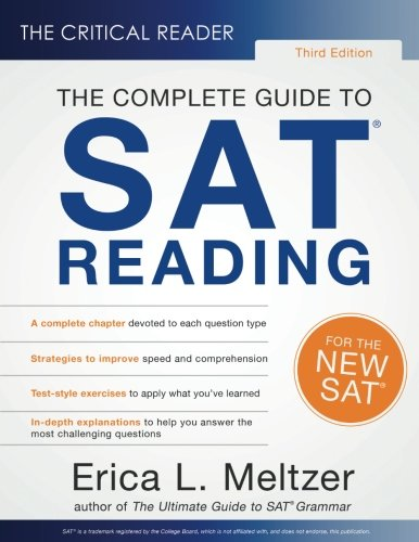 The Critical Reader, 3rd Edition: The Complete Guide to SAT Reading cover