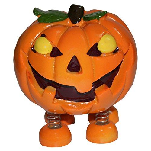 Spring Leg Pumpkin Monster Halloween Money Coin -