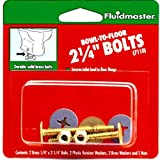 Fluidmaster 7110 2-1/4-Inch Bowl to Floor Bolts