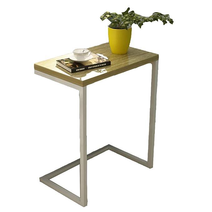 Amazon.com: Mesa plegable de madera con esquina, mesa de ...