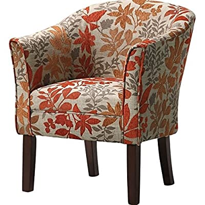Bowery Hill Club Chair in Autumn Floral Pattern