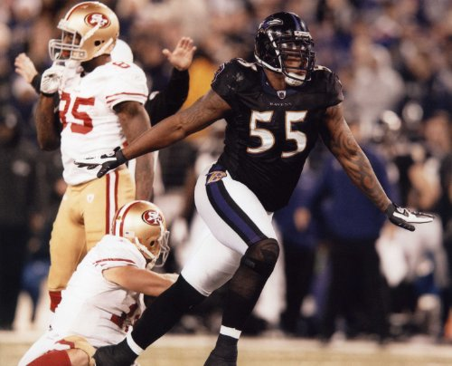 Baltimore Ravens Nfl 8x10 Photo - TERRELL SUGGS BALTIMORE RAVENS 8X10 HIGH GLOSSY SPORTS ACTION PHOTO (Q)