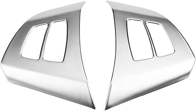 KIMISS Rearview Mirror Cap Cover Trim for A B C E GLA Class W204 W212,Carbon Fiber(Black)