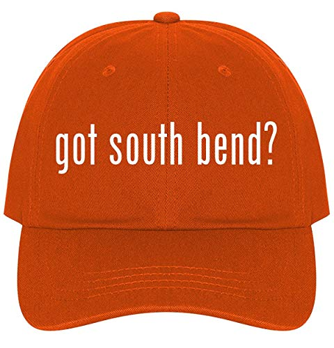 The Town Butler got South Bend? - A Nice Comfortable Adjustable Dad Hat Cap, Orange