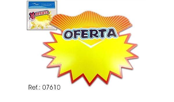 Asekible - Paquete 8 carteles oferta grande (INDICAR UN ...