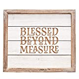 Wall Art Framed Blessed Beyond Measure Wall Art Framed Blessed Beyond Measure