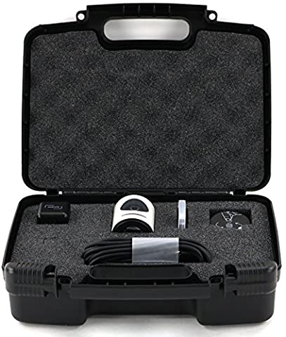 Hard Storage Carrying Case For Livestream Mevo Camera Live Event Fits Tripod, Mevo Boost, Battery Charger, USB Cable, Mount and (Jvc Everio Sd Card)