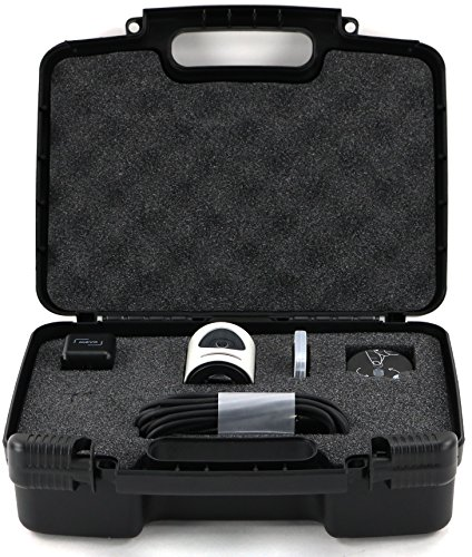Hard Storage Carrying Case For Livestream Mevo Camera Live Event Fits Tripod, Mevo Boost, Battery Charger, USB Cable, Mount and Accessories