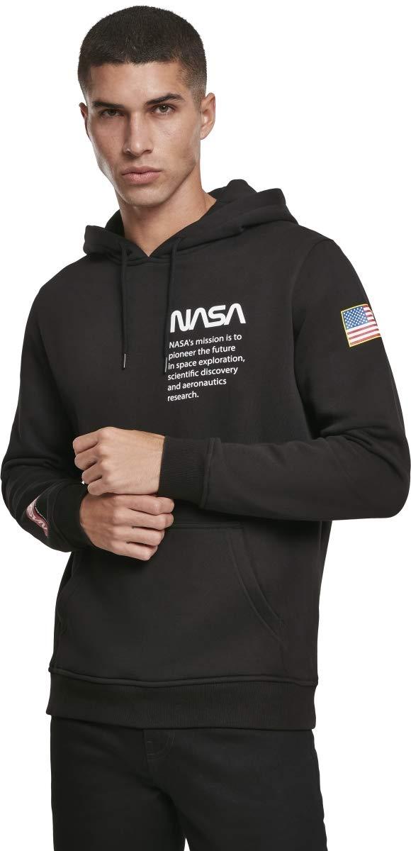 Mister Tee NASA Definition Hoody, Felpe con Cappuccio Uomo